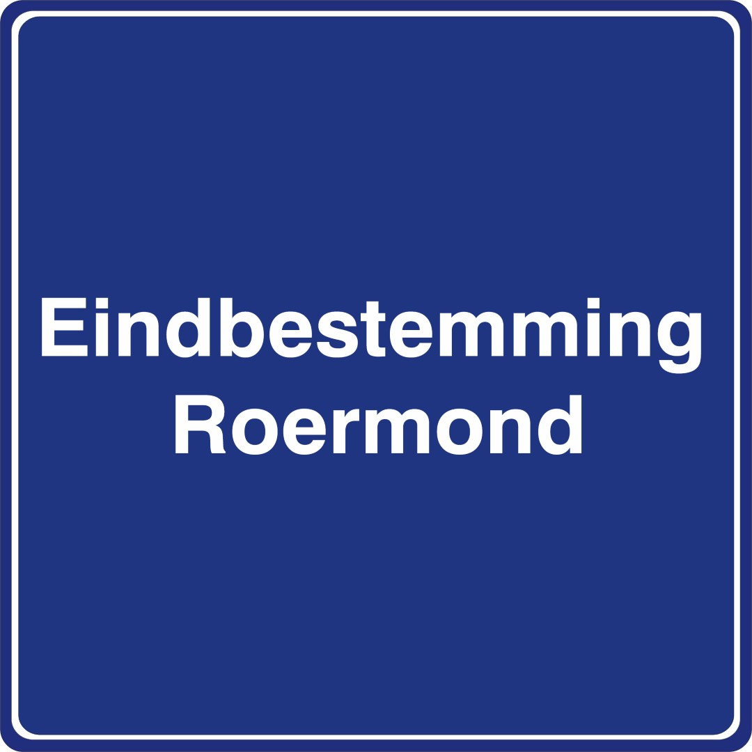 Eindbestemming Roermond